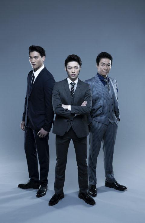 舞台「スーツの男たち」